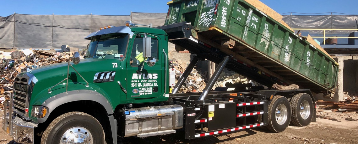 <span>Welcome to Atlas Rolloff Corp</span>Disposal facility and dumpster rental company.